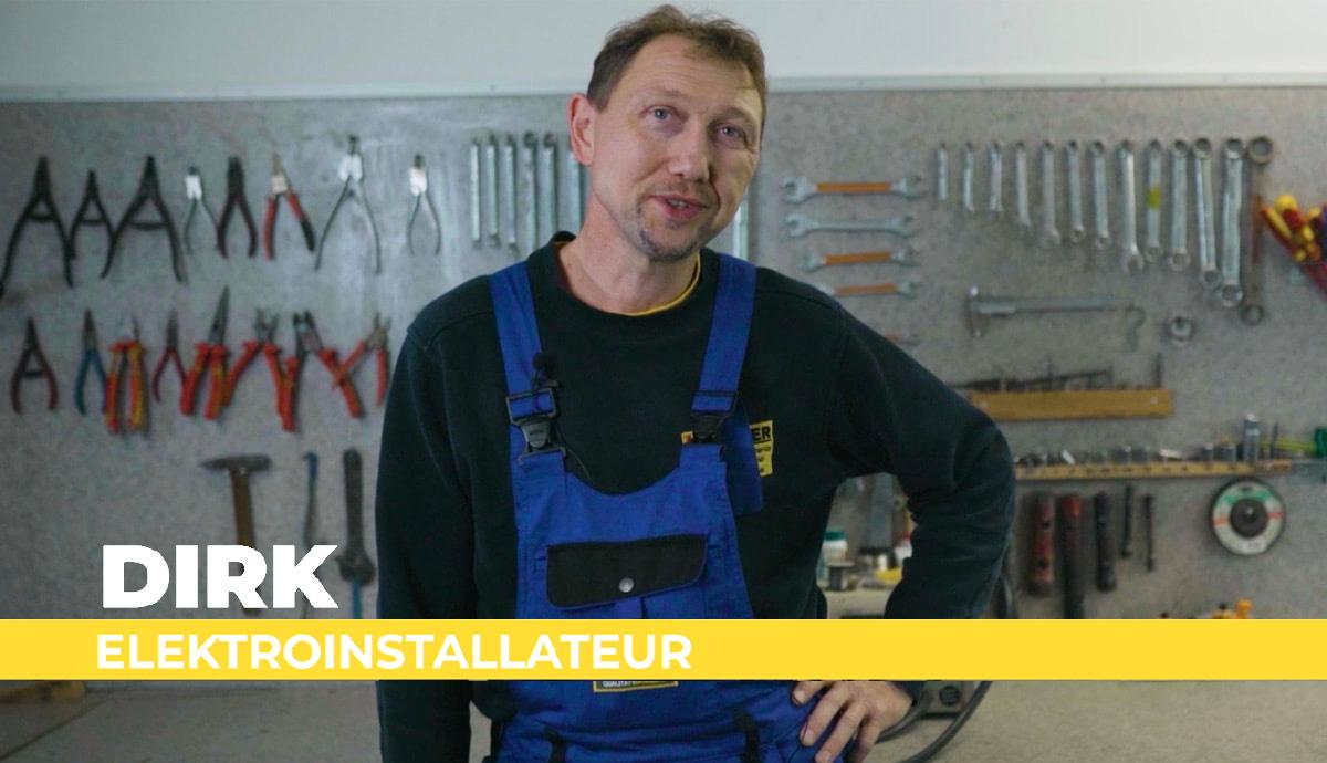 Recruitingfilm Karriere von Elektro Kummer